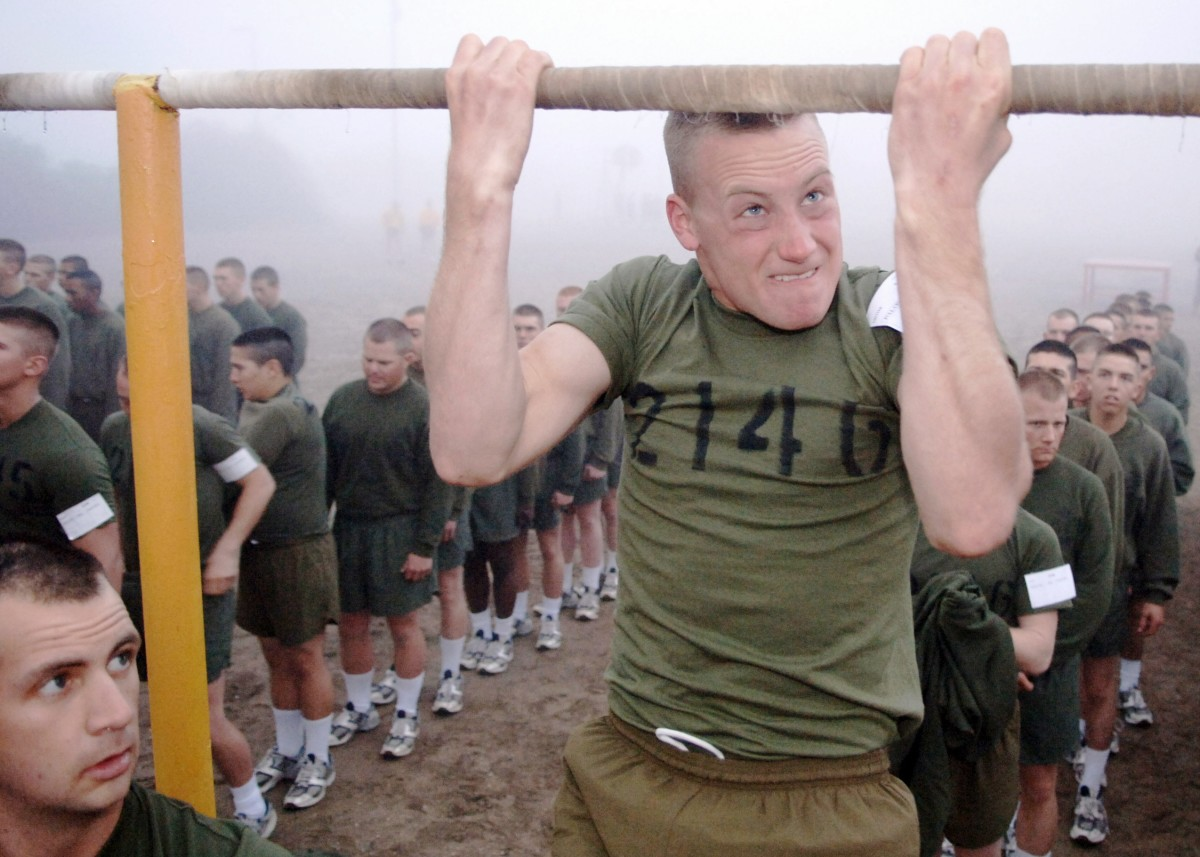 "Grit is goal-focused effort for an extended period of time.  This ""stick-to-it-iveness"" helps people complete basic training, medical school, marathons, and other intense challenges."