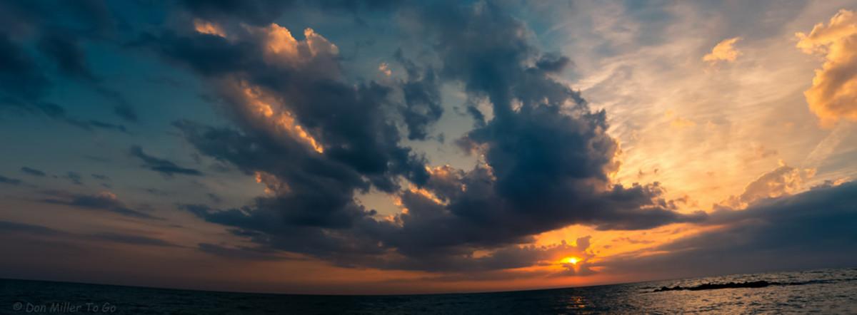 Open-awareness meditation, open sky