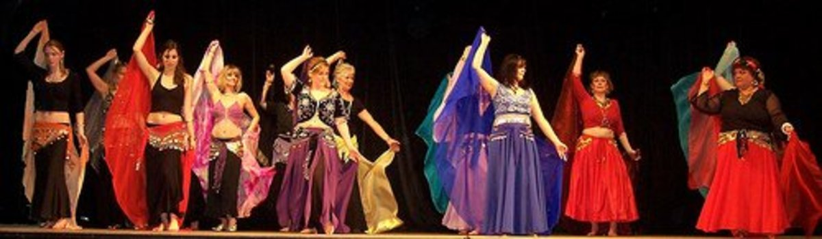 Belly dancing is easy to learn and a great social activity