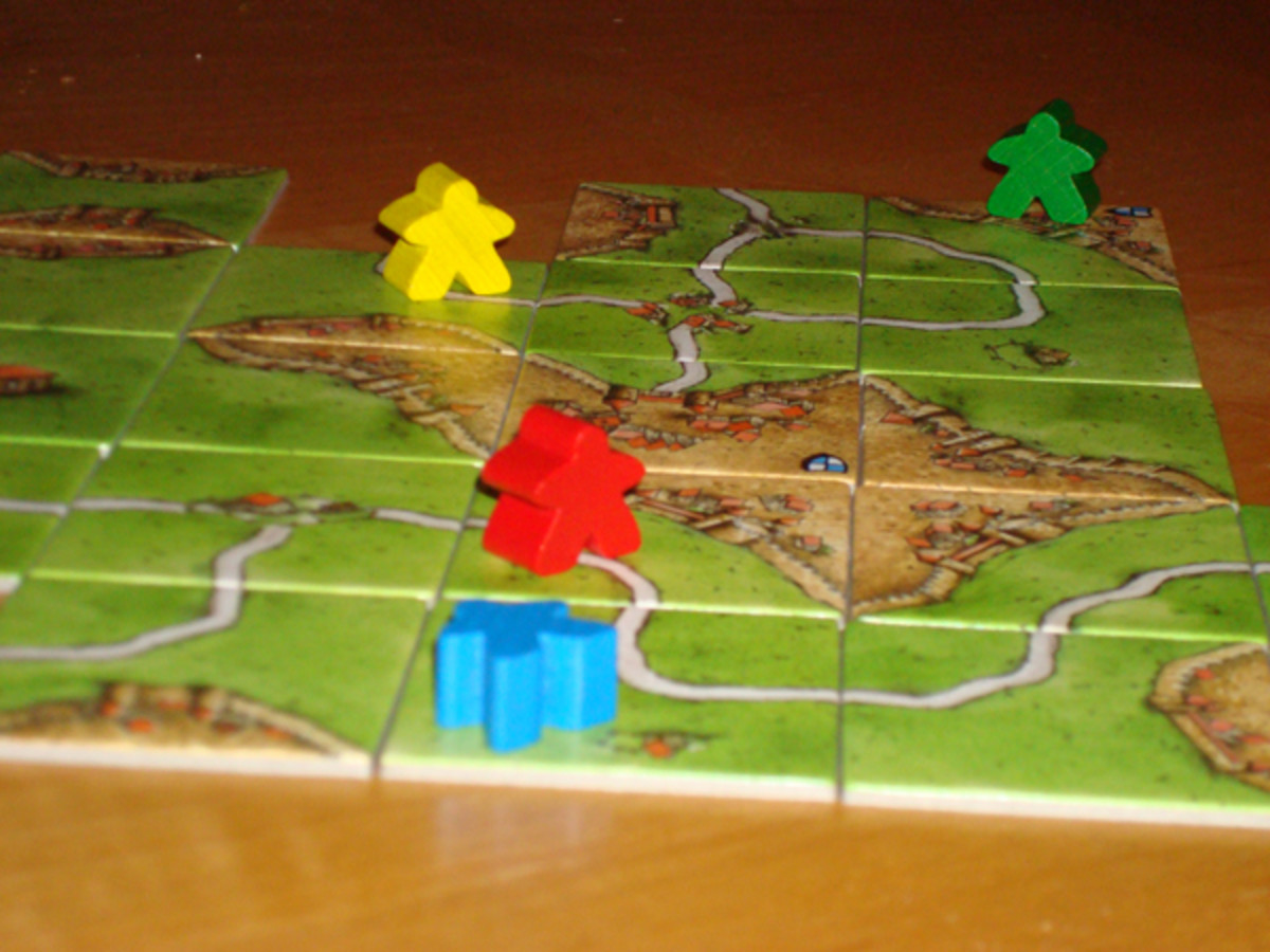 Meeples During Standard Gameplay