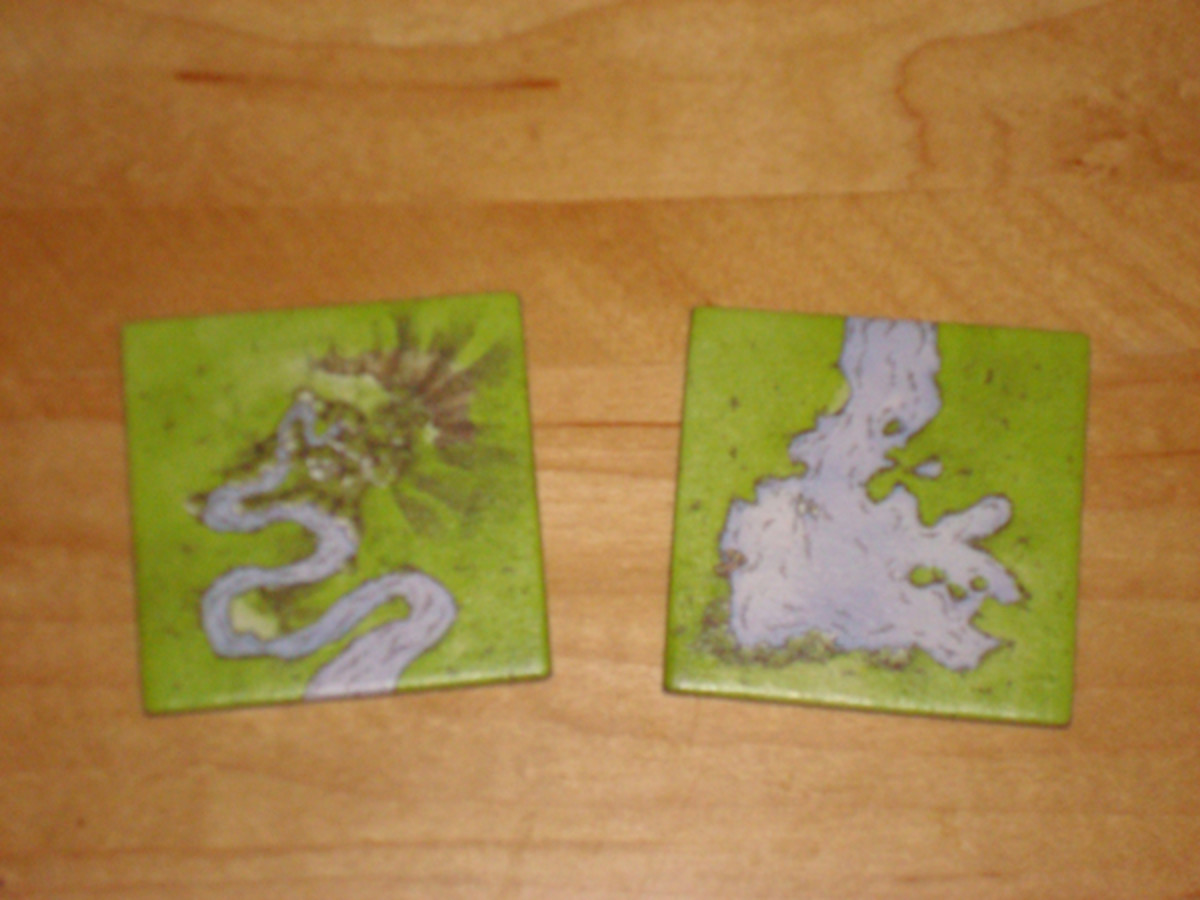 The River: Spring and Lake Tiles