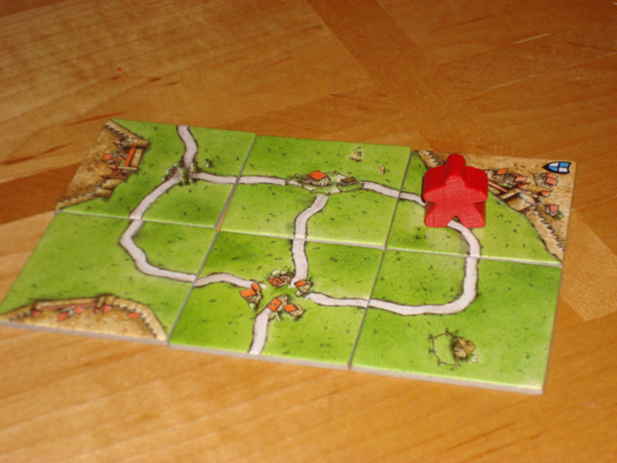 Red Thief on a Completed Road (4 Points)