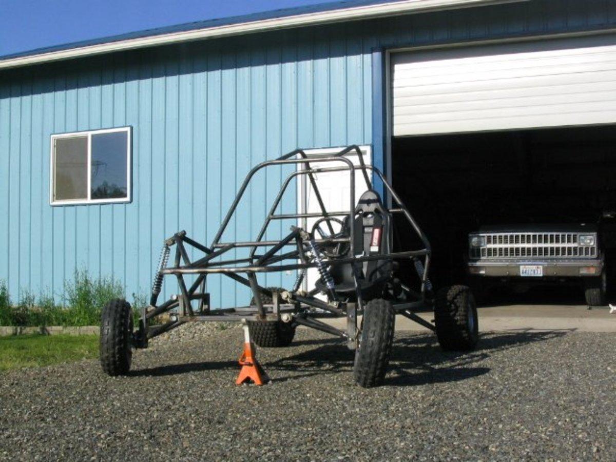 How to Build a Homemade Go Kart Frame