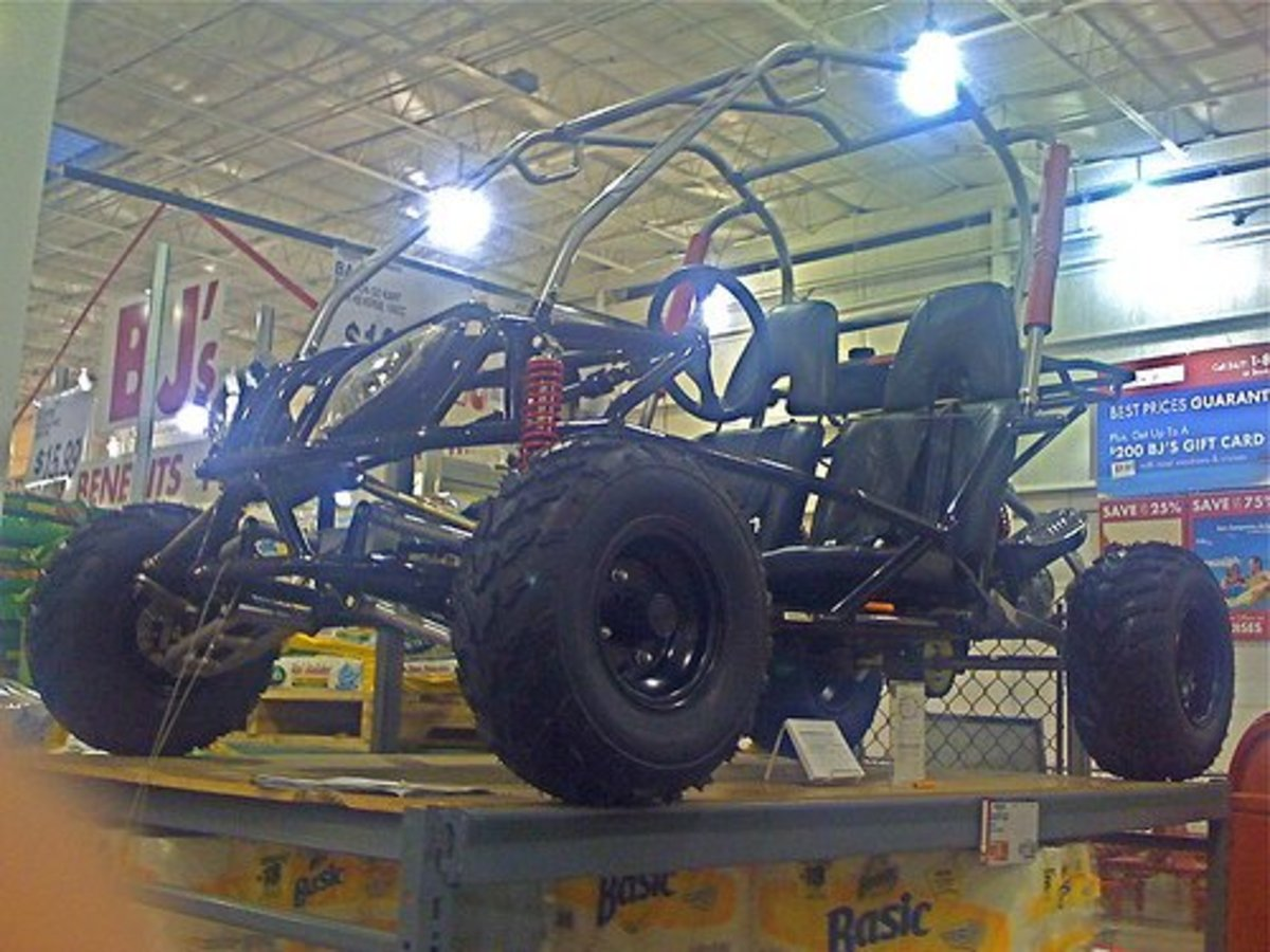 Go-kart frame—Photo from Flickr