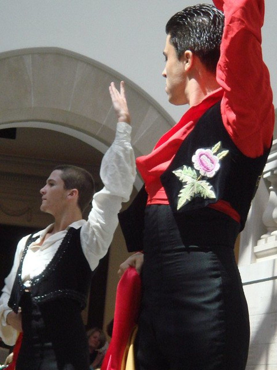 Flamenco Dance Posture, Hands and Arms
