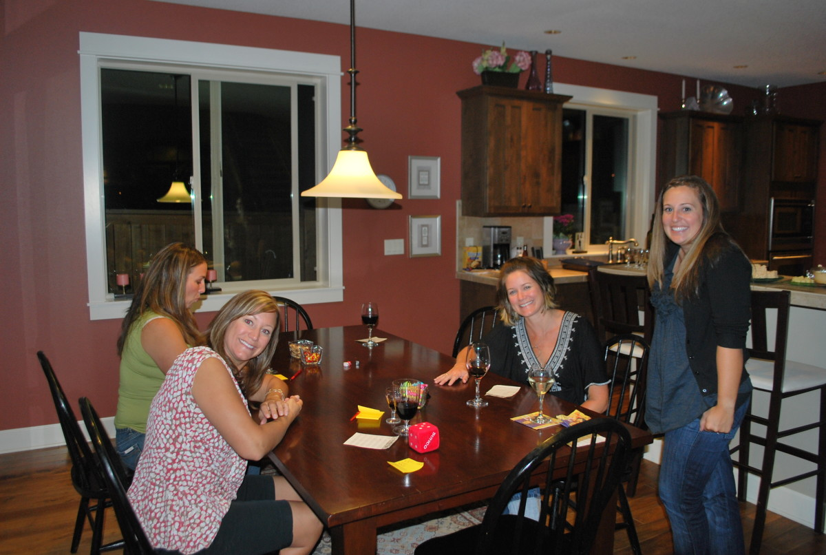 Bunco at my house!