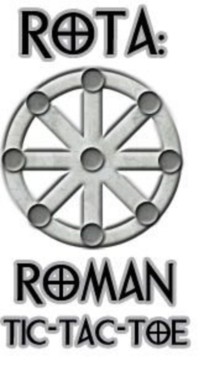 How to Play the Game of Rota (Roman Tic-Tac-Toe) | HobbyLark