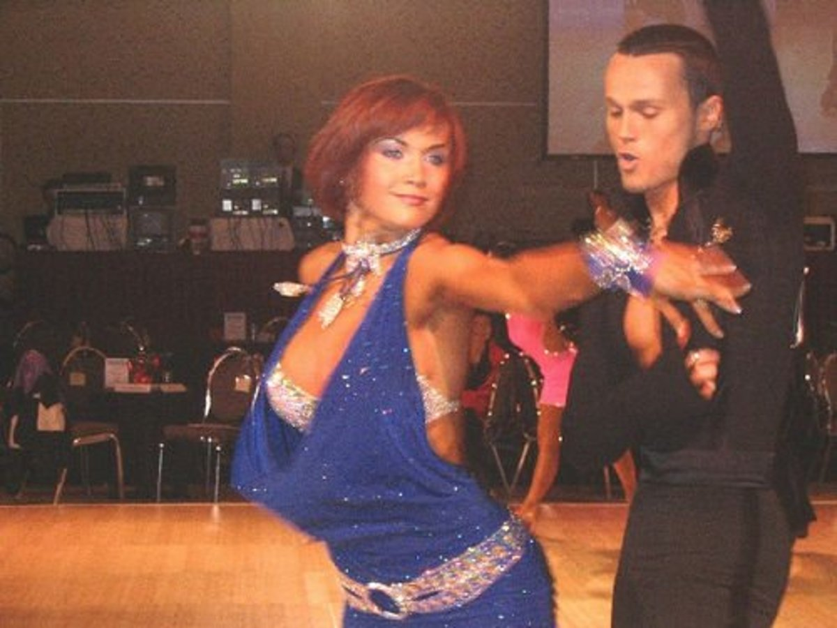 It can be incredibly hard to make a career out of dancing, so many ballroom dancers turn to competitions.