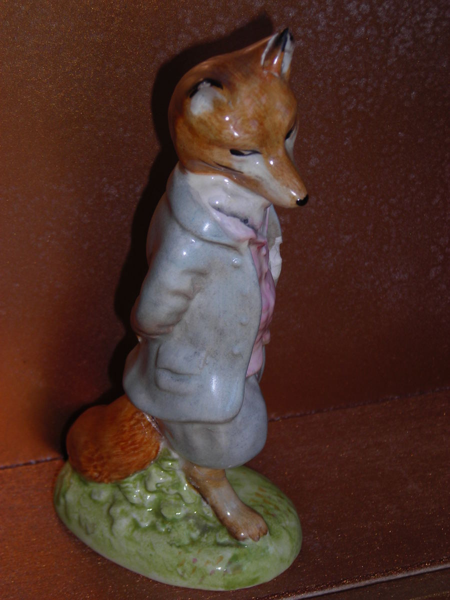 Beswick Beatrix Potter Foxy Whiskered Gentleman BP-2a (First Version, First Variation).