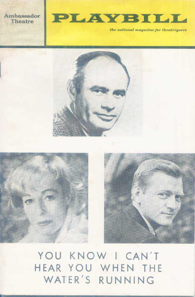 """ You Know I can't Hear You When the Water's Running"" with Martin Balsam, Eileen Heckart and George Grizzard"