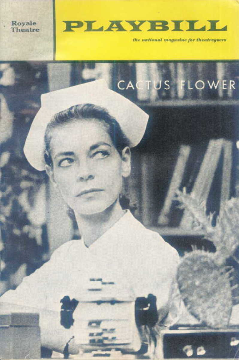 """Cactus Flower"" with Lauren Bacall and Barry Nelson"