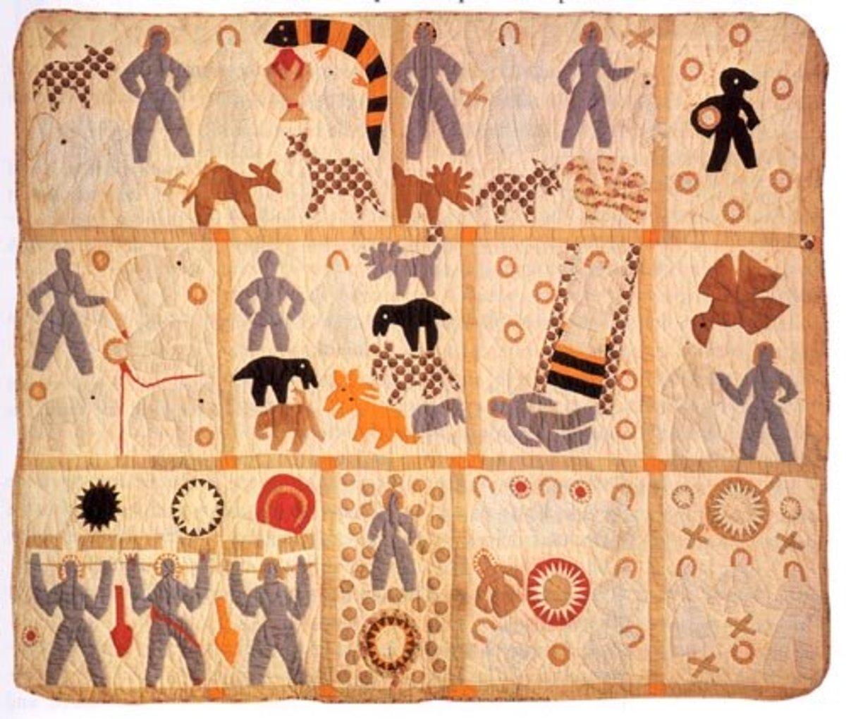 Antique quilt circa 1886