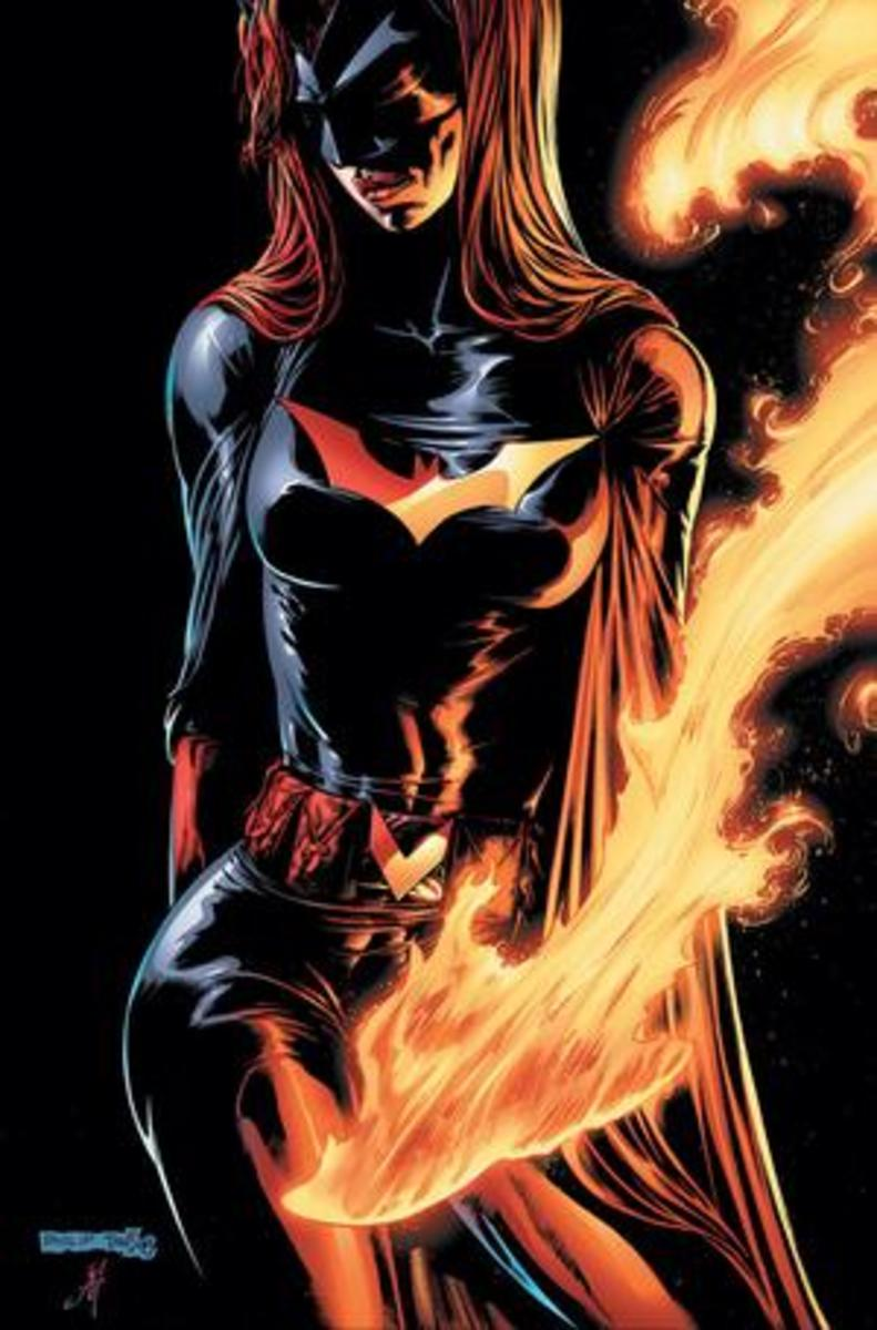 Batwoman, DC comics most visible LGBT character