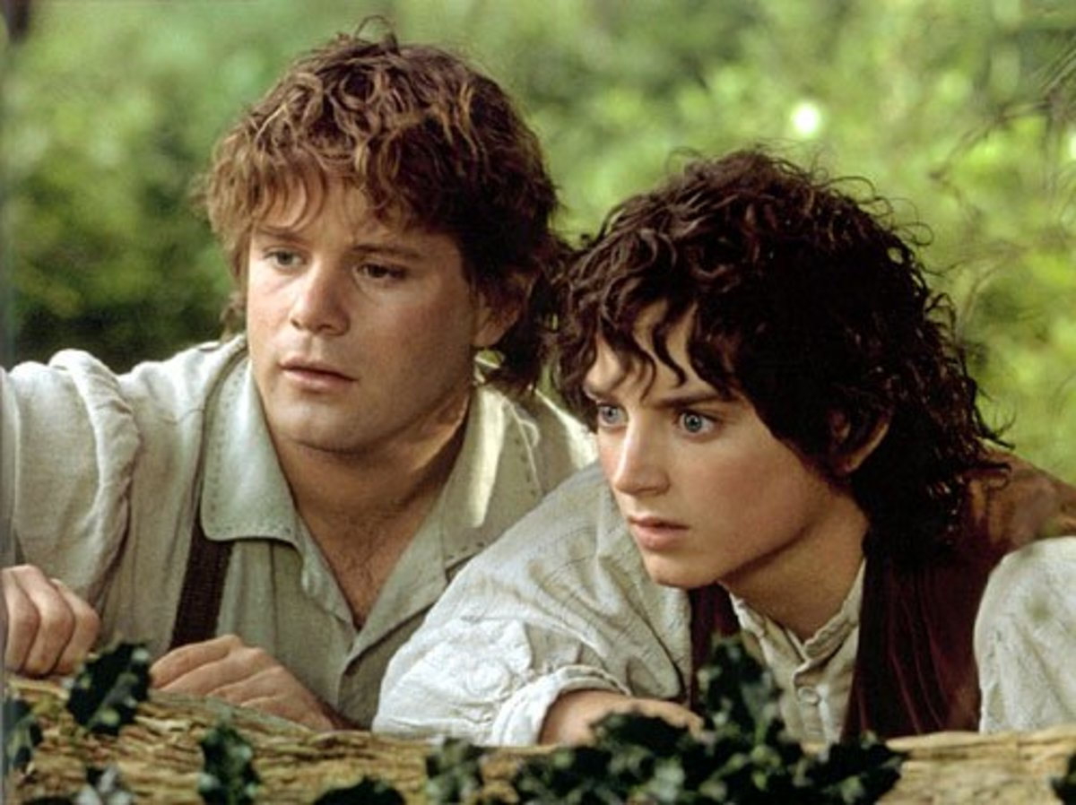 Sam and Frodo are close friends who are brought even closer together by their epic journey to destroy the One Ring.