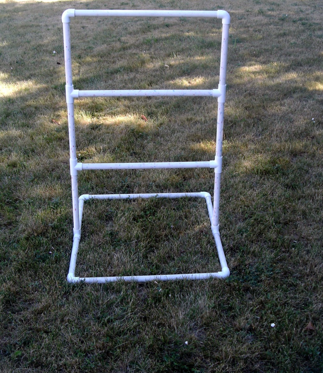 Assembled ladder