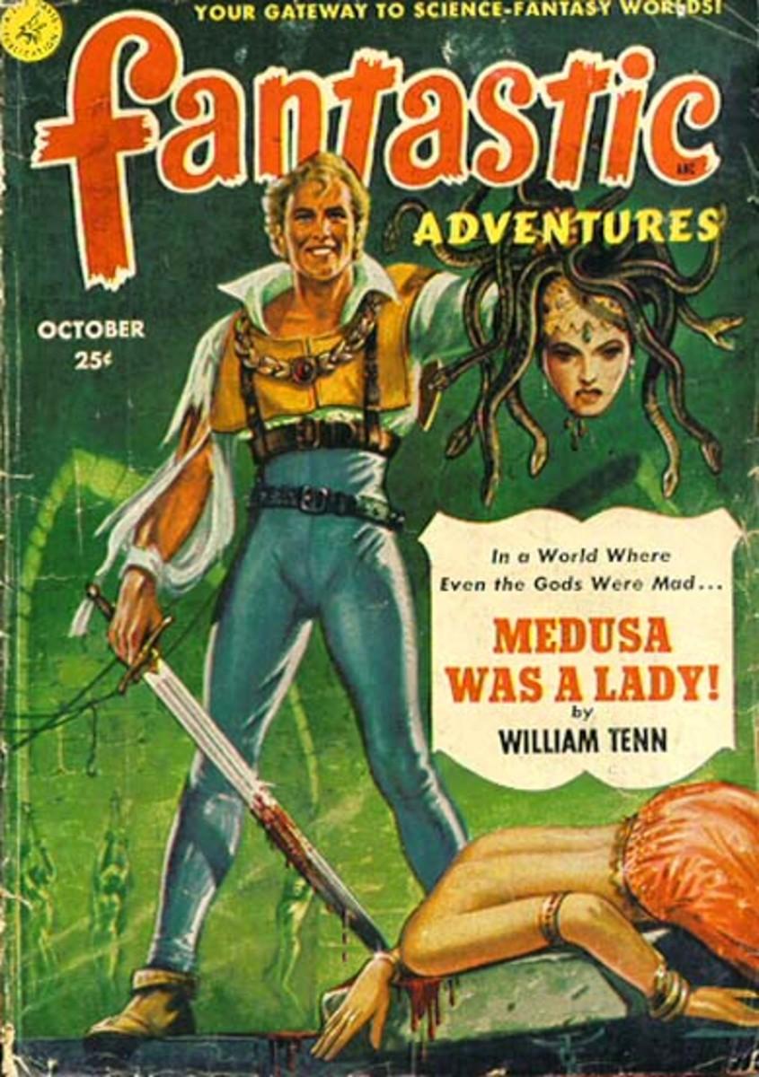 William Tenn's work in Fantastic Adventures.