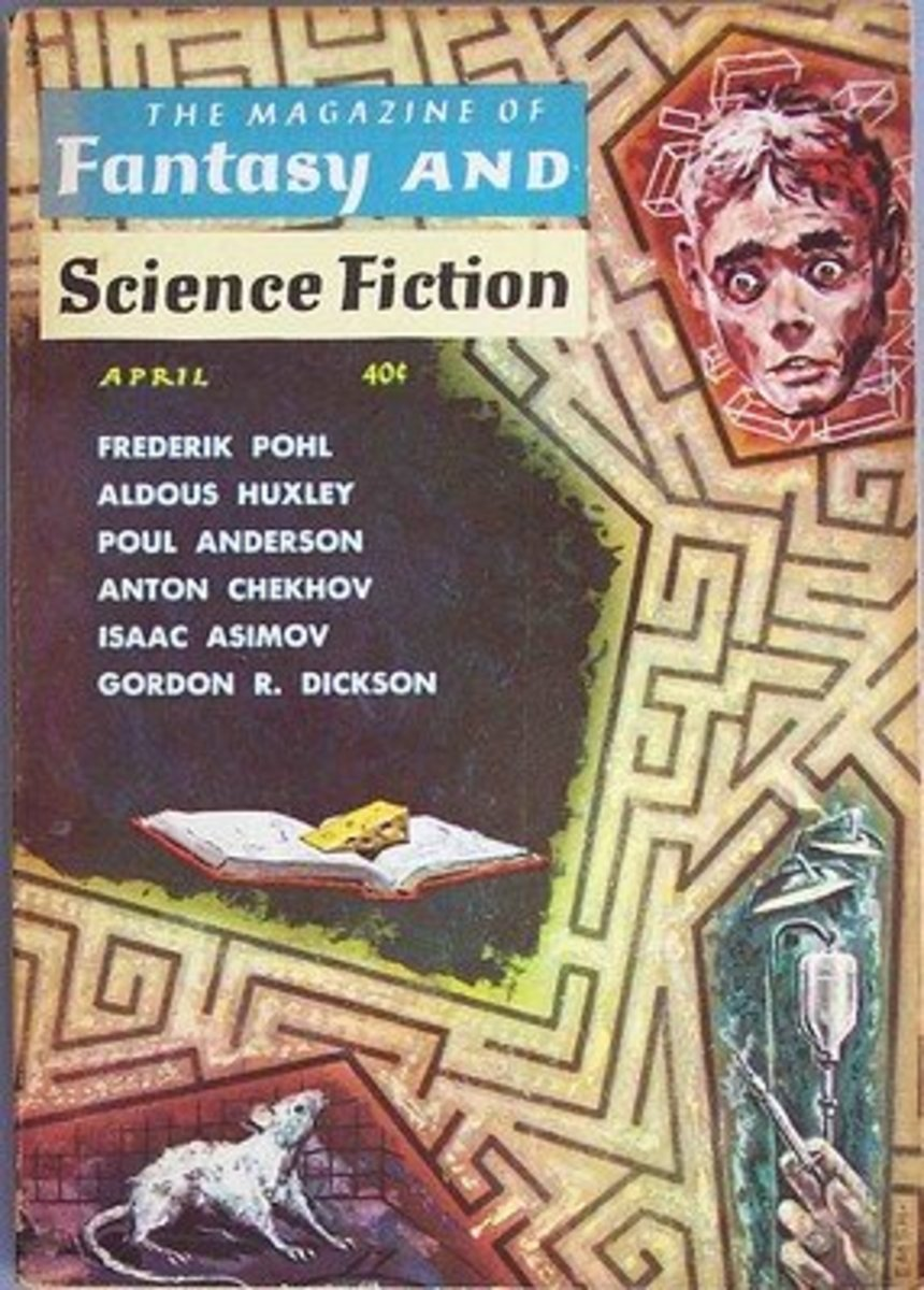 """The Daniel Keyes story """"Flowers for Algernon"""" first appeared in the Magazine of Fantasy & Science Fiction in 1959."""