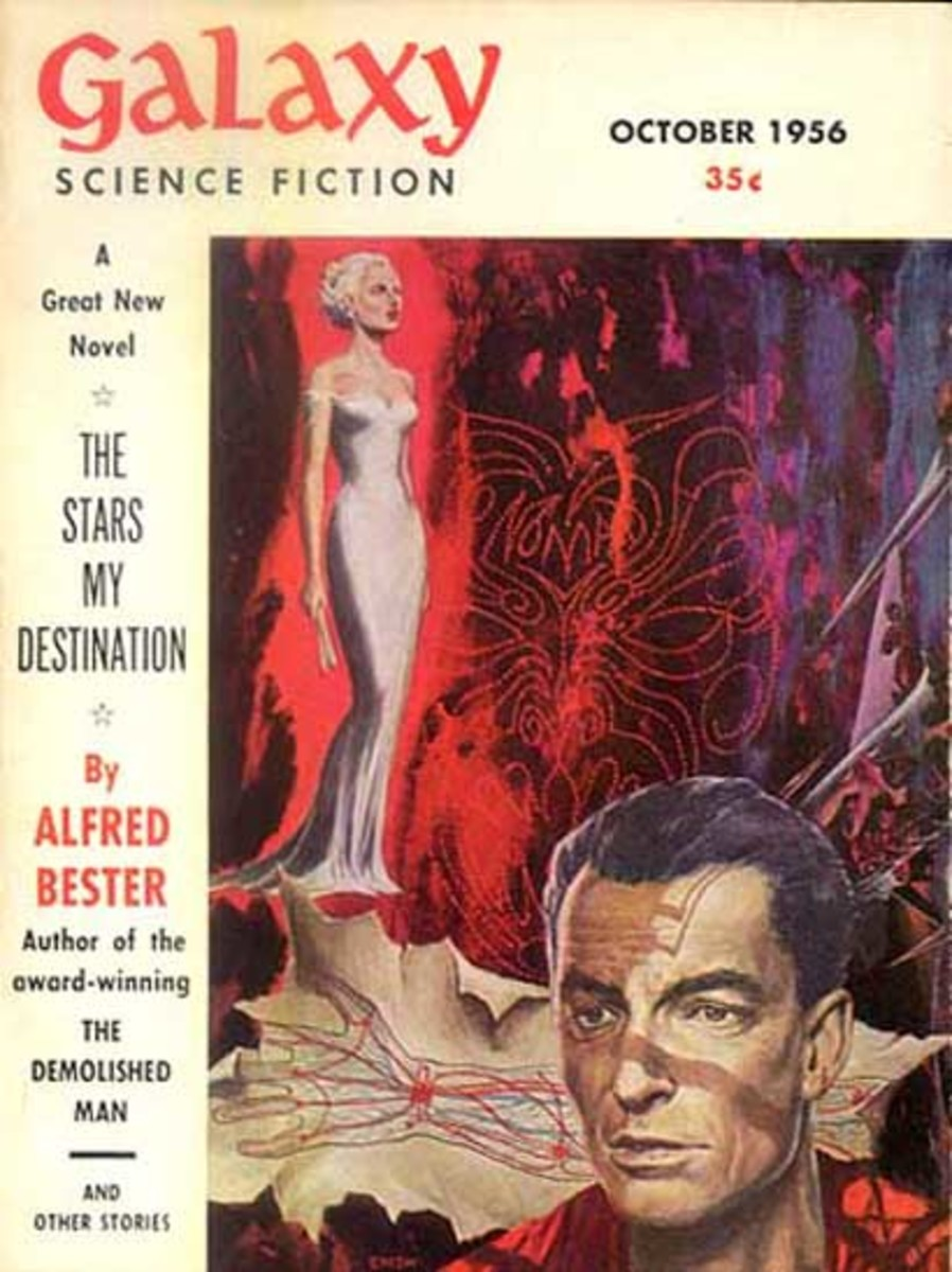 Alfred Bester's work in Galaxy.