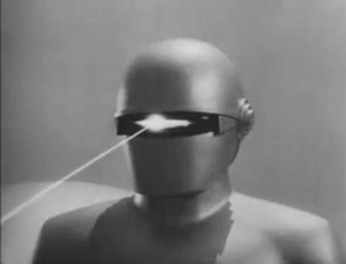 "The Robot ""Gort"" From The Day The Earth Stood Still, 1951.  Public domain image"