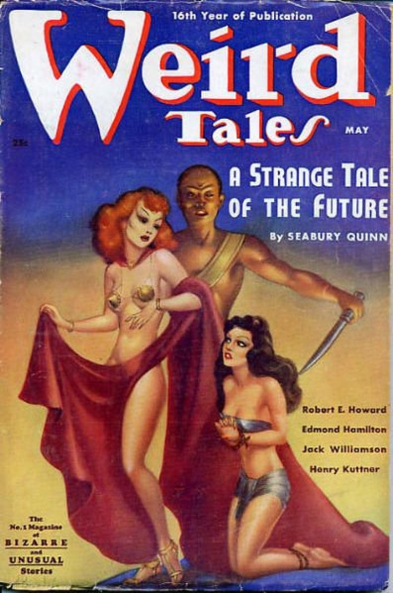 Henry Kuttner's stories appeared in many Golden Age magazines, such as Weird Tales. This May 1938 issue's cover art looks like Boris Artzybasheff—can anyone confirm?