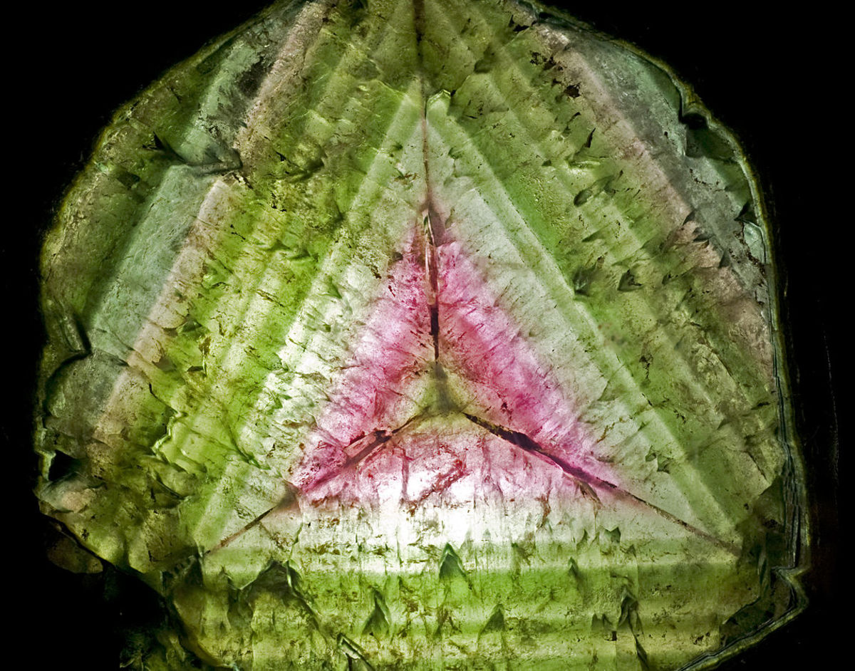 Watermelon tourmaline can also be found at the Oceanview Mine, License https://creativecommons.org/licenses/by-nc-nd/3.0/