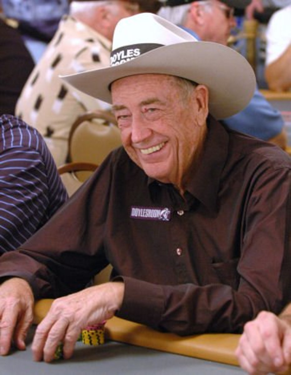 Best Poker Players: Doyle Brunson