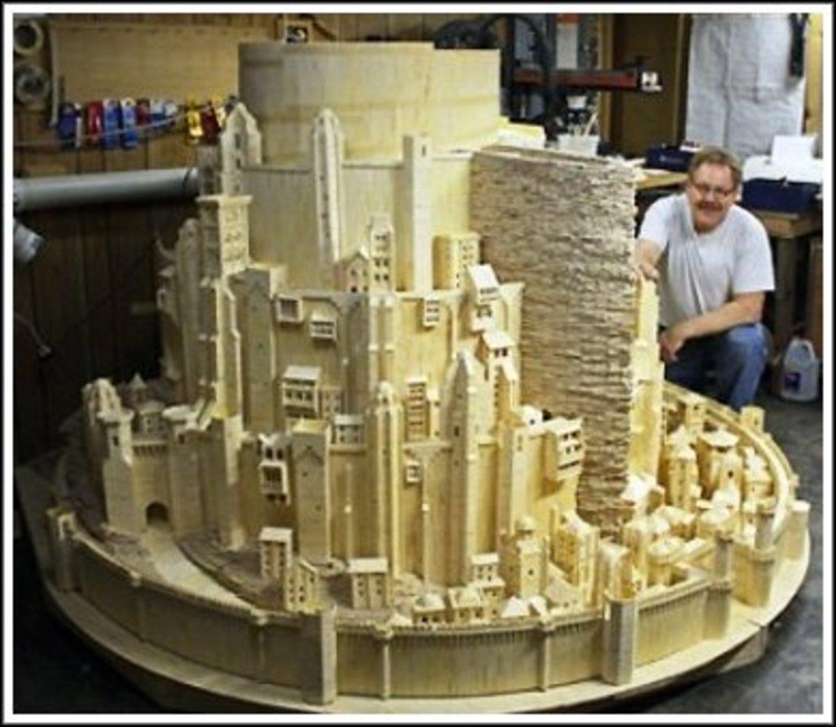 building-matchstick-models