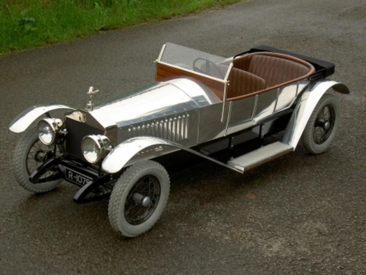 Stevenson Bros, reproduction Rolls Royce Silver Shadow.