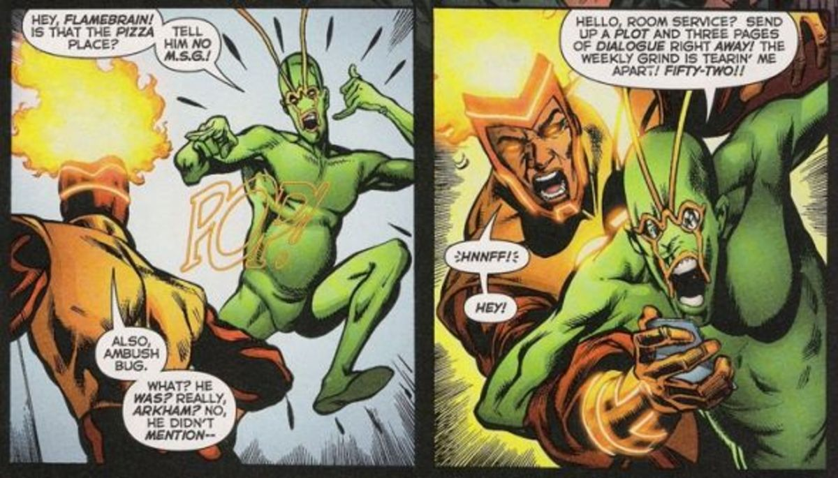 Irwin Schwab, The Ambush Bug. The power of super-insanity.