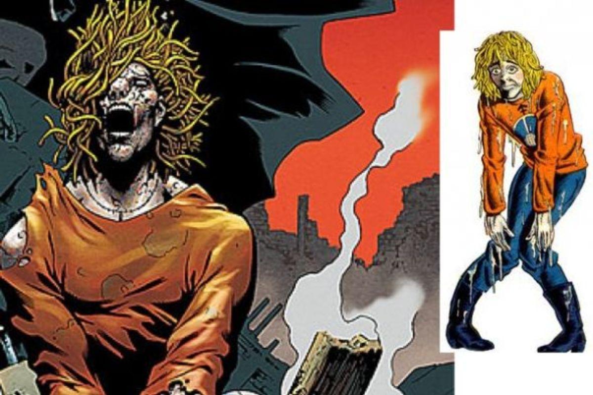 Brother Power The Geek. The mannequin-hippie superhero.