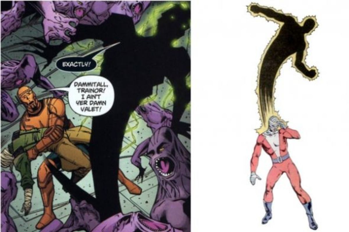 Larry Trainor, The Negative Man. The 60-second superhero