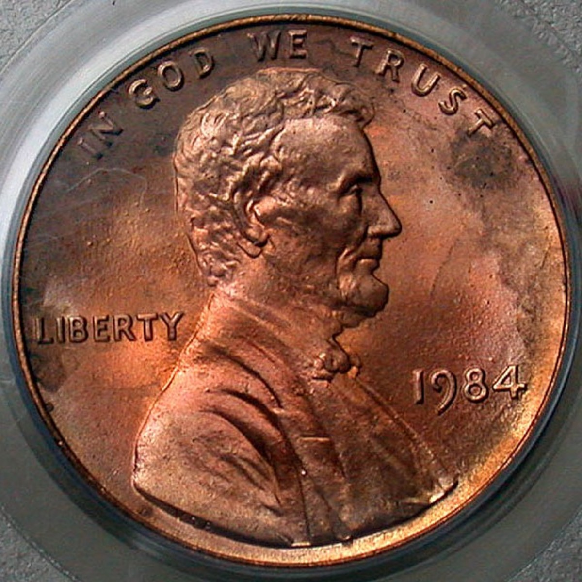1984 Double Ear Lincoln Penny