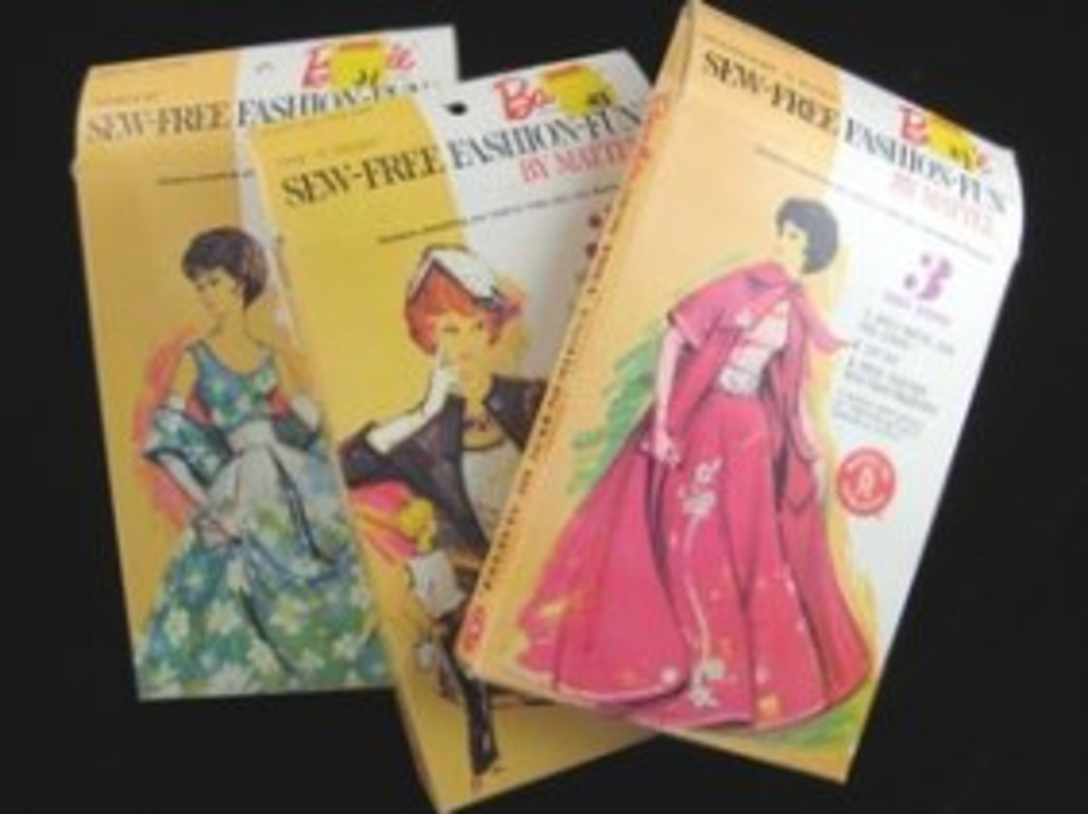 """Stardust and Other Barbie """"Sew-Free"""" Fashions"""