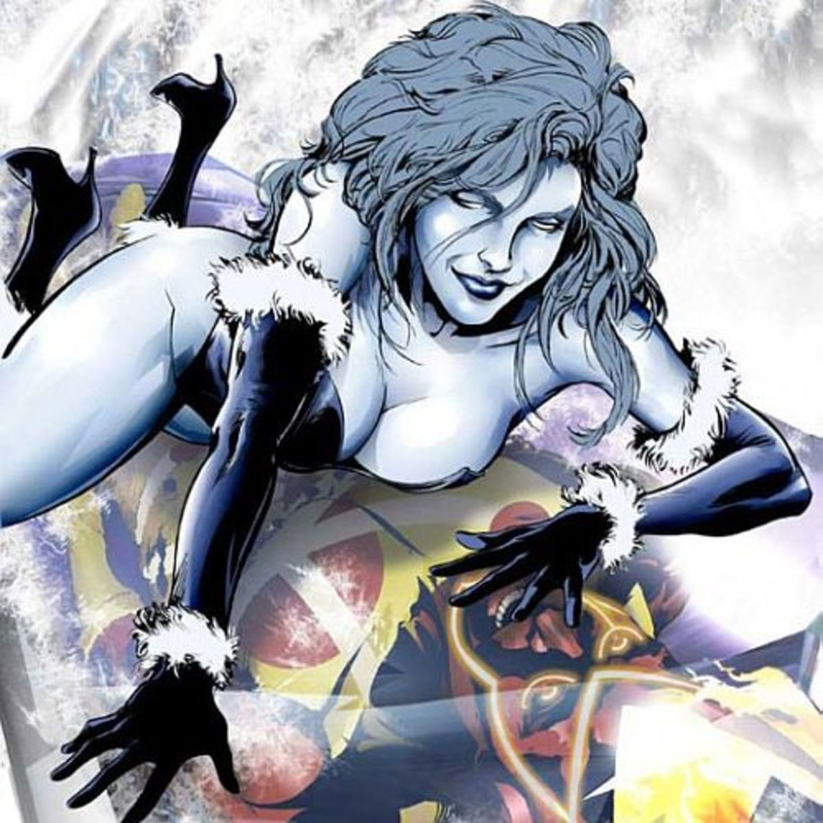 Killer Frost—A chilling psychotic feeding on warmth.