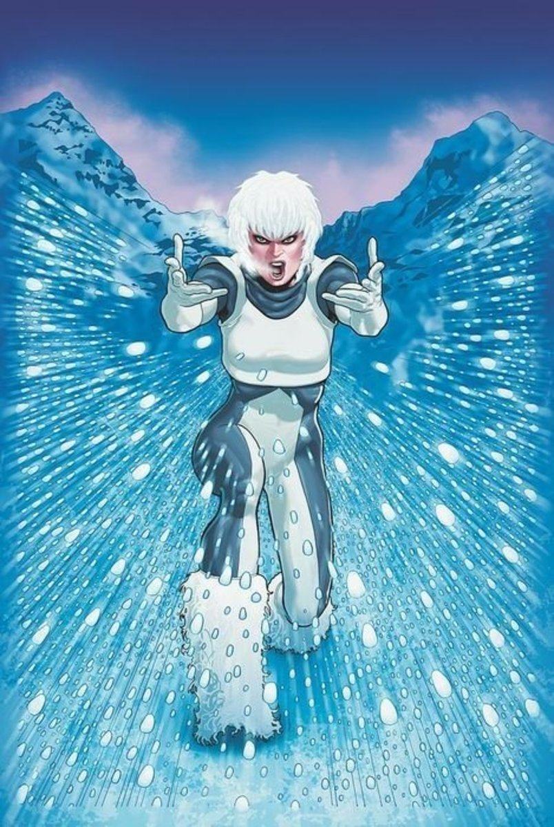 Tora Olafsdotter, The Superhero known as Ice