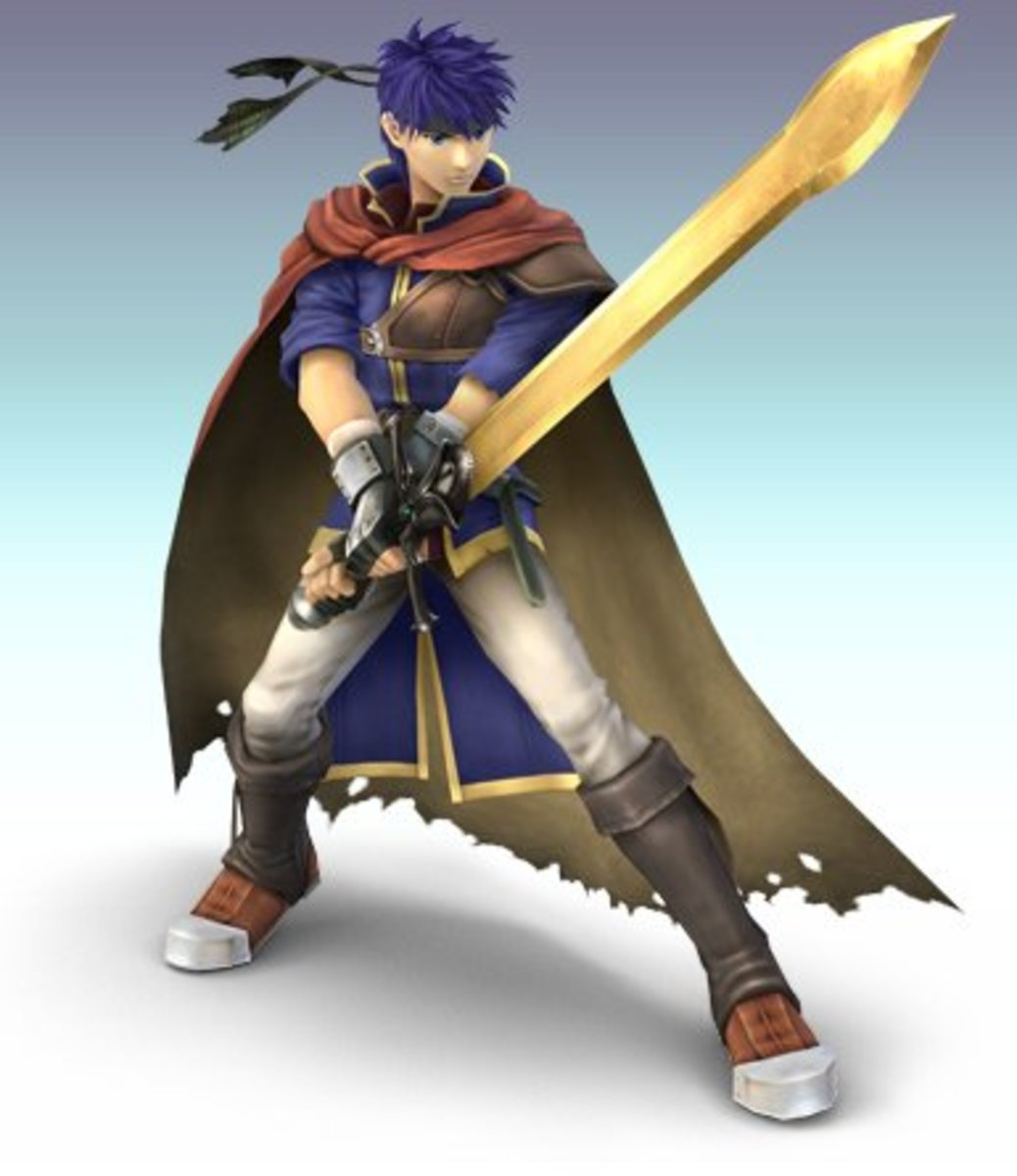 As a general rule, you want to look this awesome, but be nowhere near as slow as Ike was in Super Smash Brothers Brawl.