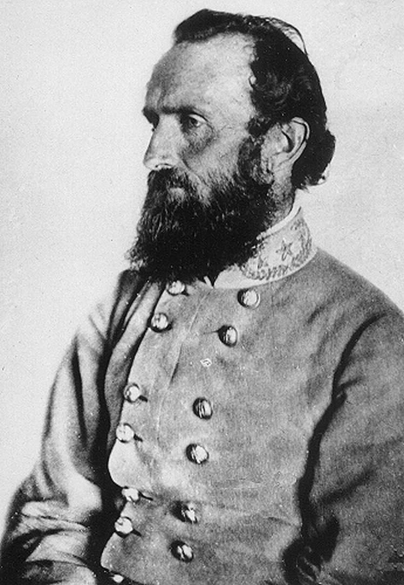 Stonewall Jackson, April 1863
