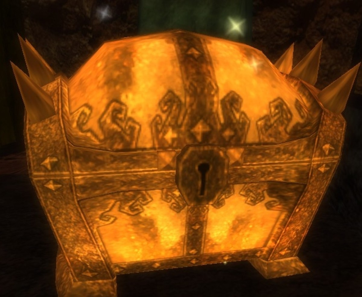 Some treasure chests in Dungeons and Dragons Online are locked.  The treasure hunter will take steps before embarking on quests to ensure chests within dungeons are found and opened.