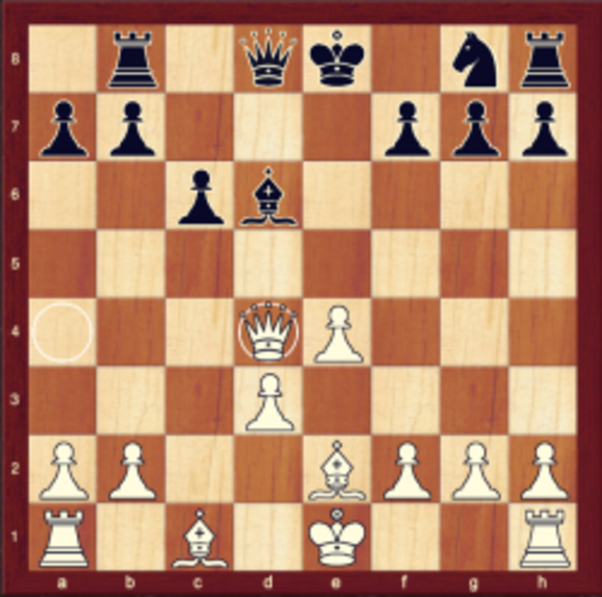Black loses a pawn after playing 4..d4?!