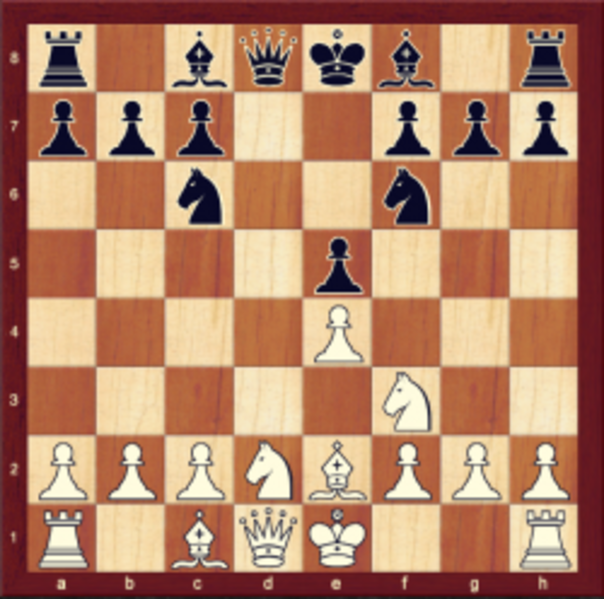 Position after 6. dxe4