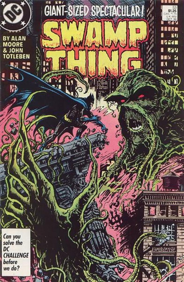 The Swamp Thing: Classic Horror Comic Book. A Collector's Edition.