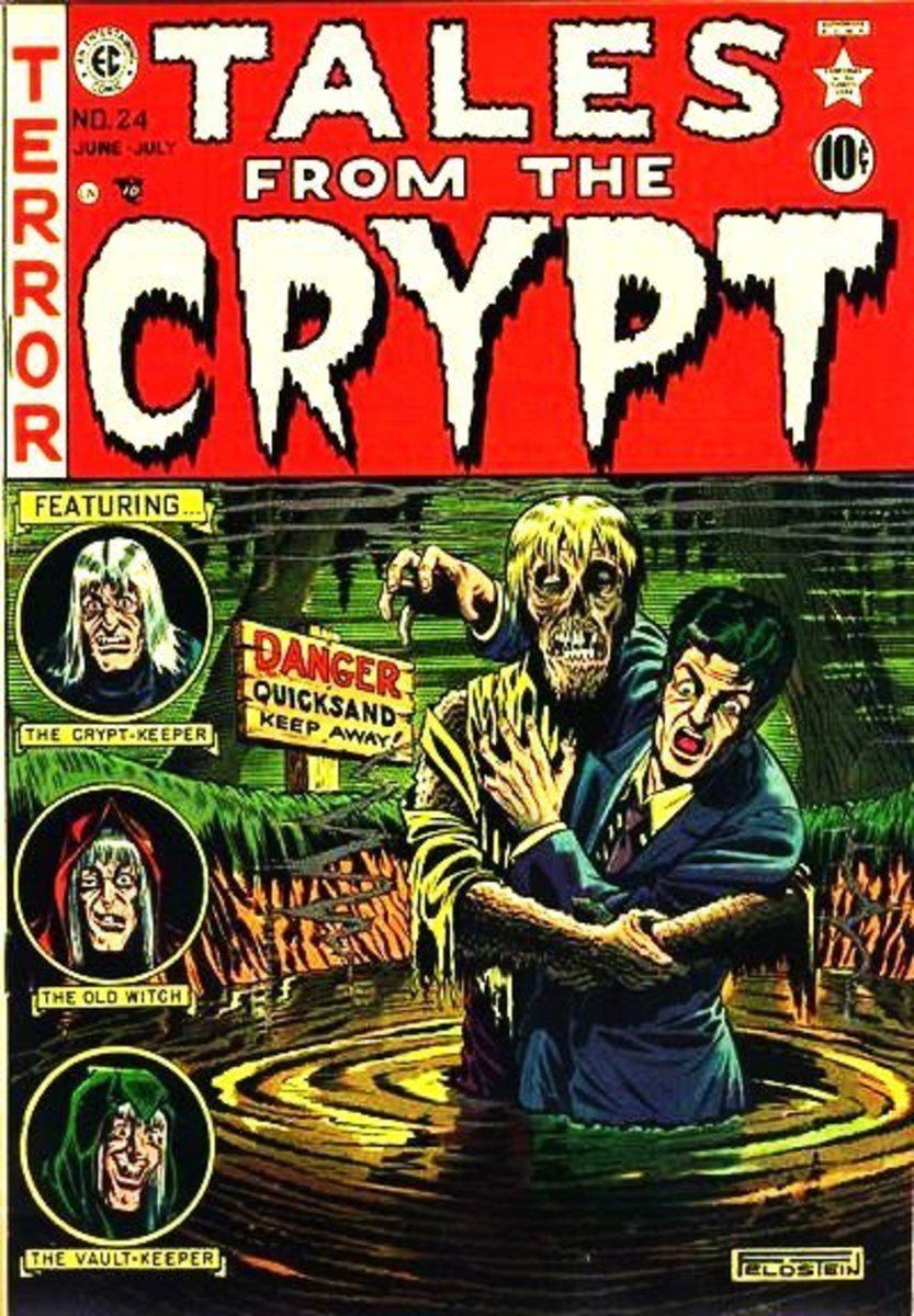 Tales from the Crypt: One of the Best Horror Comic Books of All Time!