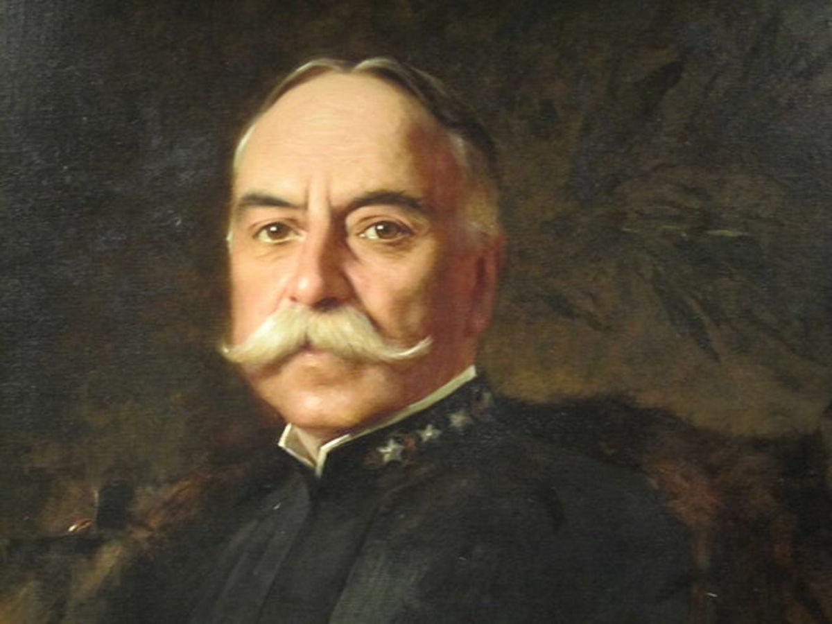 Portrait of Admiral George Dewey in the National Portrait Gallery, Smithsonian Institution