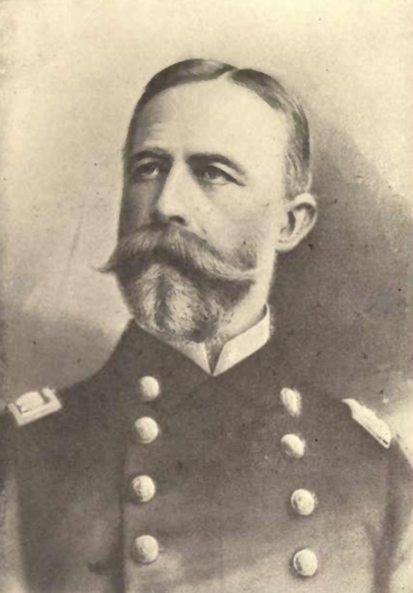 Rear Admiral William T. Sampson, circa 1899