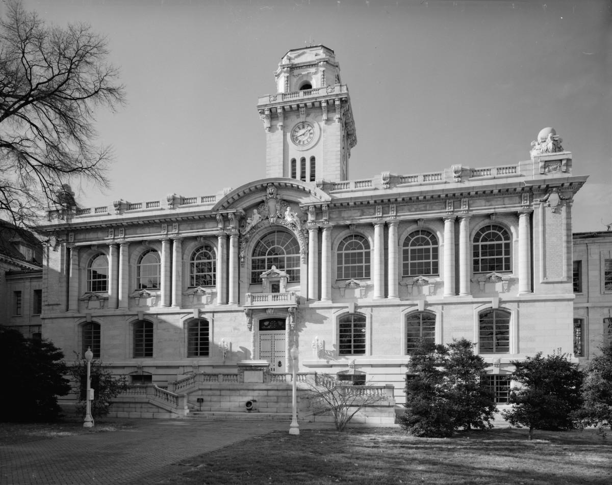 Mahan Hall at the U.S. Naval Academy