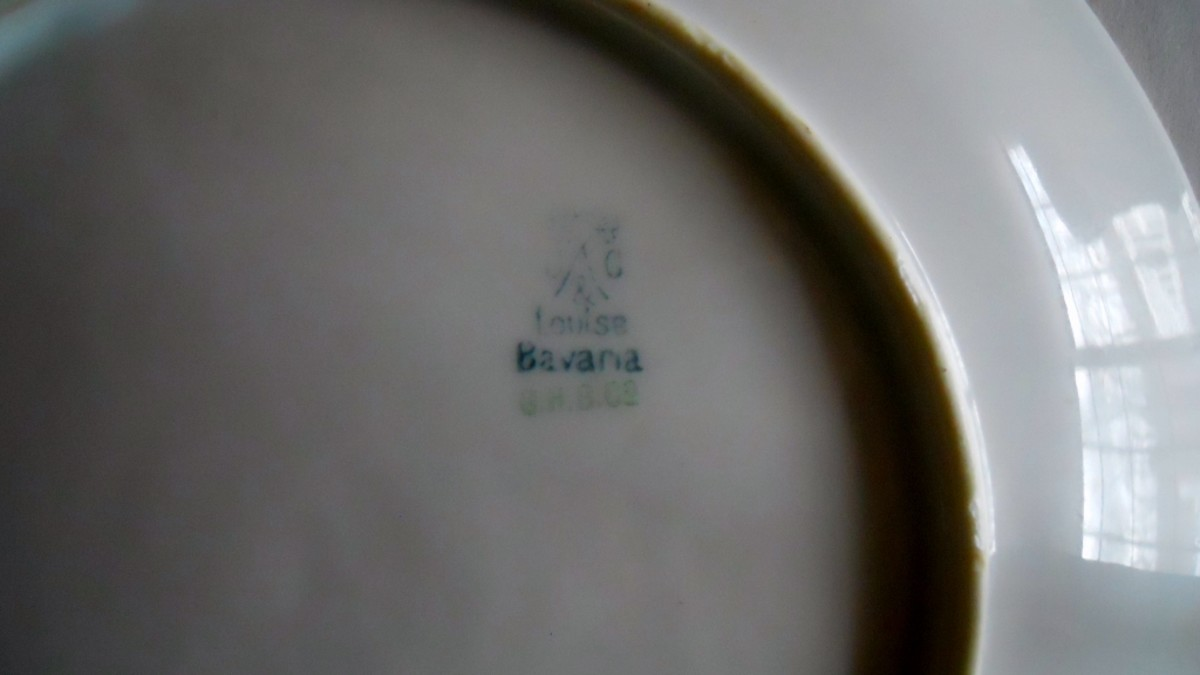 Louise Bavaria Pottery Mark