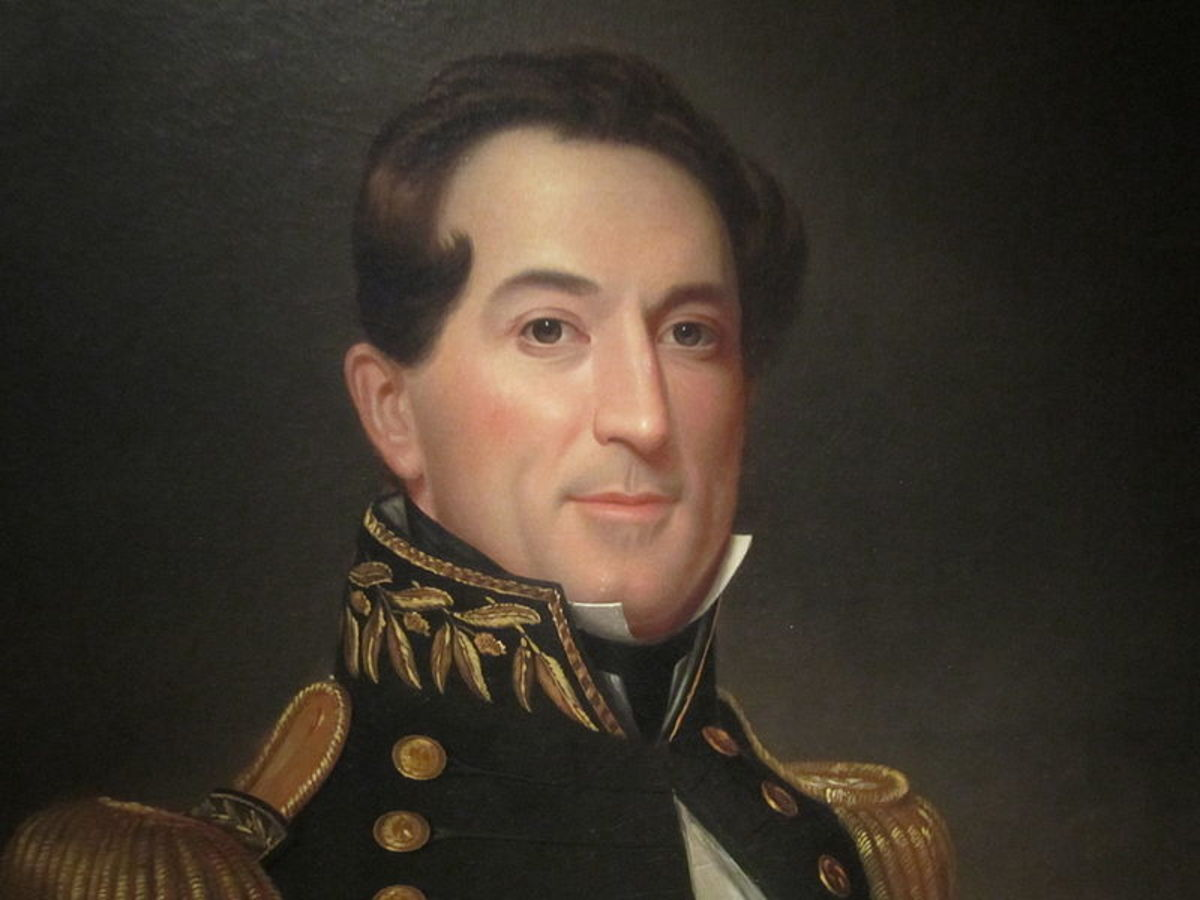 Portrait of Admiral David Farragut in the National Portrait Gallery, Smithsonian Institution
