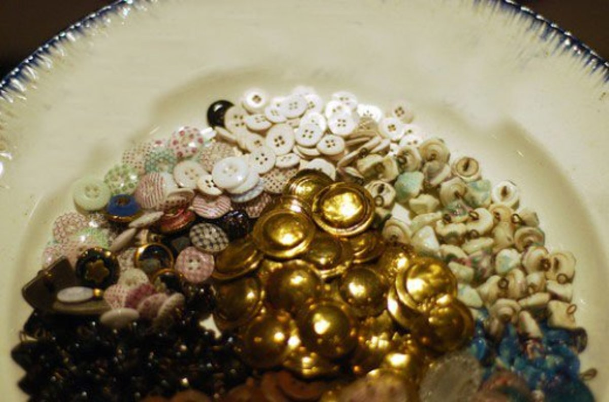 China Buttons