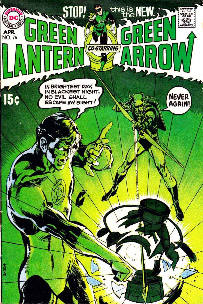 Green Lantern/Green Arrow, O'Neil and Adams