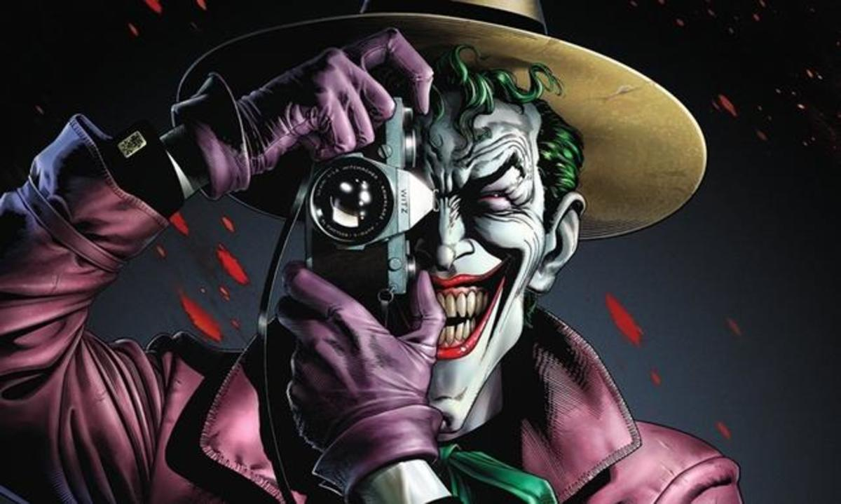 The Killing Joke by Alan Moore, Illustrated by Brian Bolland.